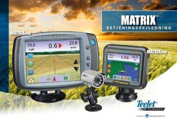 Matrix User Manual Danish 98-05179 R2 - TeeJet