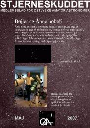 Stjerneskuddet Maj skærm - Østjyske Amatør Astronomer