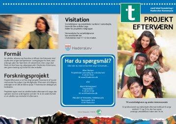 PROJEKT EFTERVÆRN - Haderslev Kommune