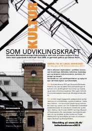 Kultur som udviklingskraft - Danmarks Biblioteksforening