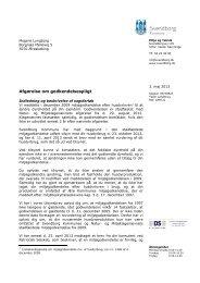 Afgørelse om godkendelsespligt - Svendborg kommune