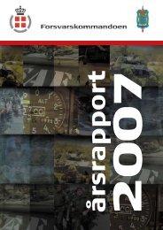 Forsvarskommandoens Årsrapport for 2007 - Forsvarsministeriet