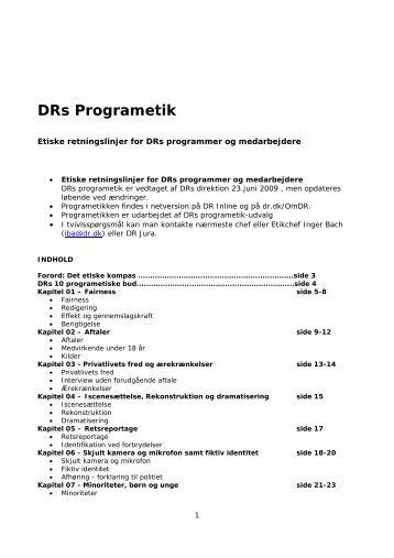 DRs Programetik