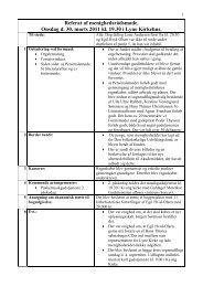 Referat, 30. februar 2011, pdf-format. - Lyne Kirke