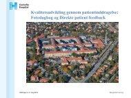 Kvalitetsudvikling gennem patientinddragelse: Fotodagbog og ...