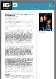 Gem/åben denne artikel som PDF (156 Kb) - 16:9