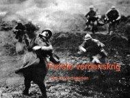 1. verdenskrig - Noddi