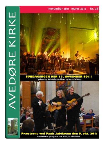 november 2011 - Avedøre-Kirke
