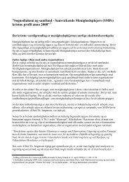 Download (PDF) - Samvirkende Menighedsplejer