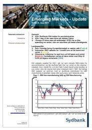 Emerging Markets Nyt - Sydinvest
