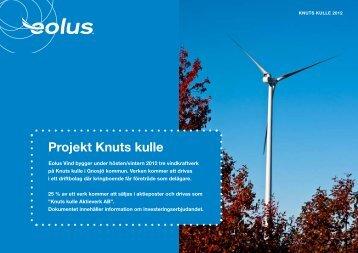 Projekt Knuts kulle - Qvinnovindar