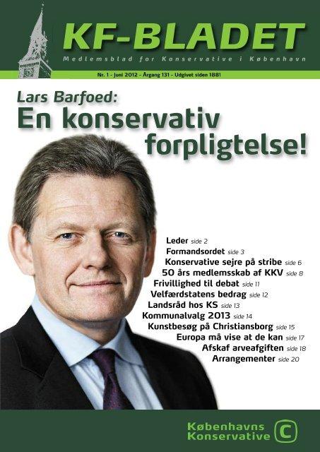 KF-Bladet foråret 2012 - Konservative Folkeparti