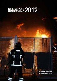 REGNSKAB BERETNING2012 - Vestegnens Brandvæsen