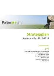Strategiplan for Kulturarv Fyn 2010-2014 - Nyborg Bibliotek