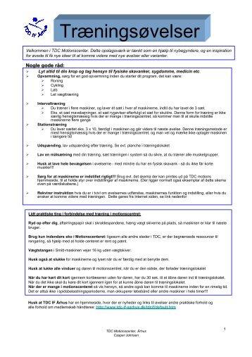 (Microsoft PowerPoint - TDC Motionscenter \370velser 06-03-06.ppt)