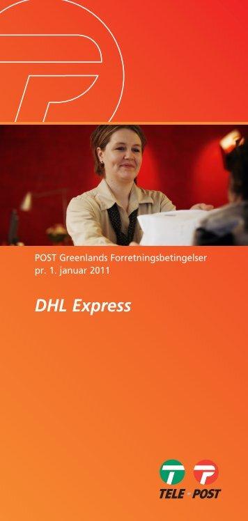 DHL Express Udland - Post Greenland