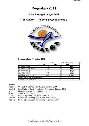 revideret regnskab_2011 samt budget 2012