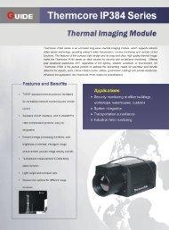 UIDE Thermcore IP384 Series - Alava Ingenieros