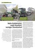 Kubikmeter, mehr Komfort, weniger Standzeiten - Hans Wittrock GmbH - Seite 2