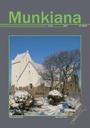 www.munkiana.dk issn: 1397-7172 nr. 43 2010 14. årgang