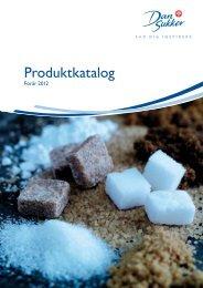Produktkatalog - Nordic Sugar