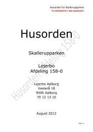 Skallerupparken Lejerbo Afdeling 158-0 - Skallerupvej Aalborg
