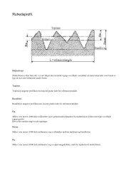 Information vedr. RUHED (63 KB) - Norm Teknik A/S