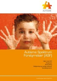 Autisme Spektrum Forstyrrelser (ASF) - Landsforeningen Autisme
