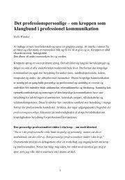 Slides, kroppens klangbund - Copenhagen Coaching Center