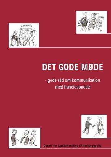 DET GODE MØDE - Center for Ligebehandling af Handicappede
