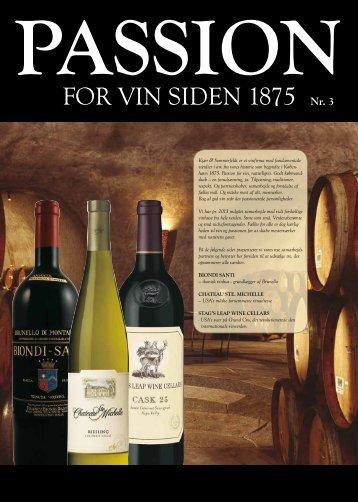 for vin siden 1875 Nr. 3