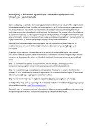 Kortlægning af medlemmer og ressourcer i netværket ... - NGO Forum