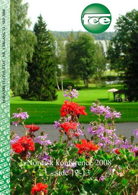 Nordisk konference 2008 - side 12-13 - FCE