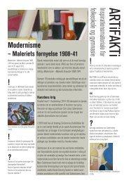 Modernisme - Maleriets fornyelse 1908-41 - Aros