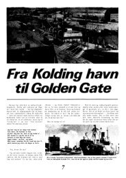 Fra Kolding havn til Golden Gate