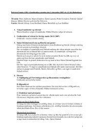 1 Referat af møde i LBL's landsledelse, mandag den 3. december ...