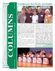 Grandparents' Day Dazzles and Delights - Pine Crest School