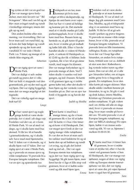 MCHolmeren sommer2013 web.pdf - M.C. Holms Skole