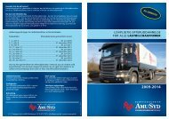 lovpligtig efteruddannelse for alle lastbilchauffører - AMU Syd