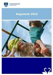 Samlet regnskab 2010 - Ledige jobs i Fredensborg Kommune
