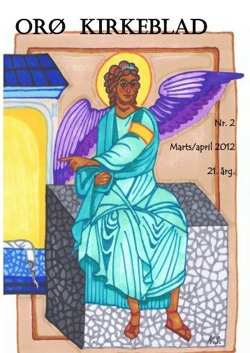 Nr. 2 mar/apr 2012 - Orø Kirke