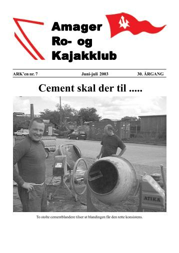 Januar 03 - Amager Ro- og Kajakklub