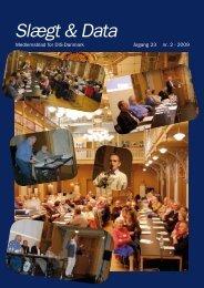 2009-2 slægt & data.pdf - DIS-Danmark