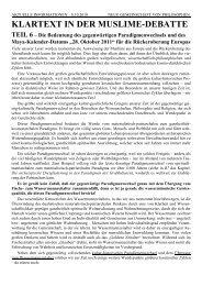 Klartext Teil 6 - Die Reichsbewegung