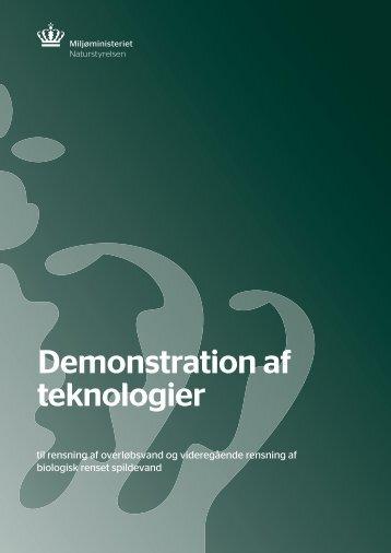 Demonstration af teknologier - Naturstyrelsen
