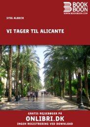 Vi tager til Alicante - pdf - gran-alacant.dk - VELKOMMEN