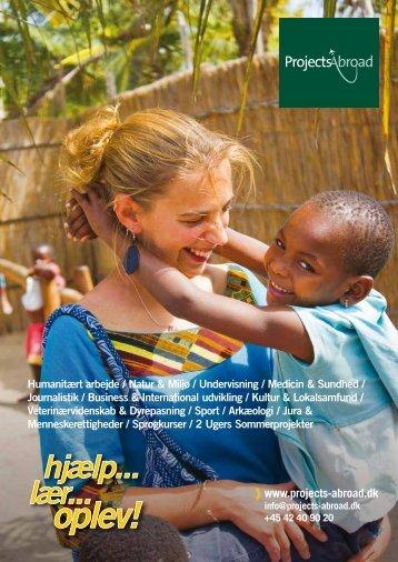 Download en brochure - Projects Abroad