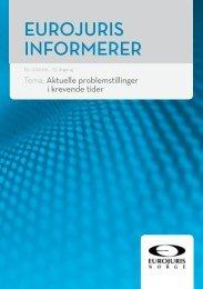 Eurojuris Informerer nr 2-2009 - Lov AS