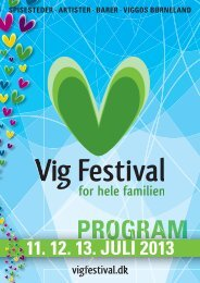 Download program 2013 - Vig Festival