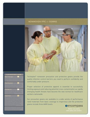 Disposable Protective Gowns PDF - Encompass Group LLC
